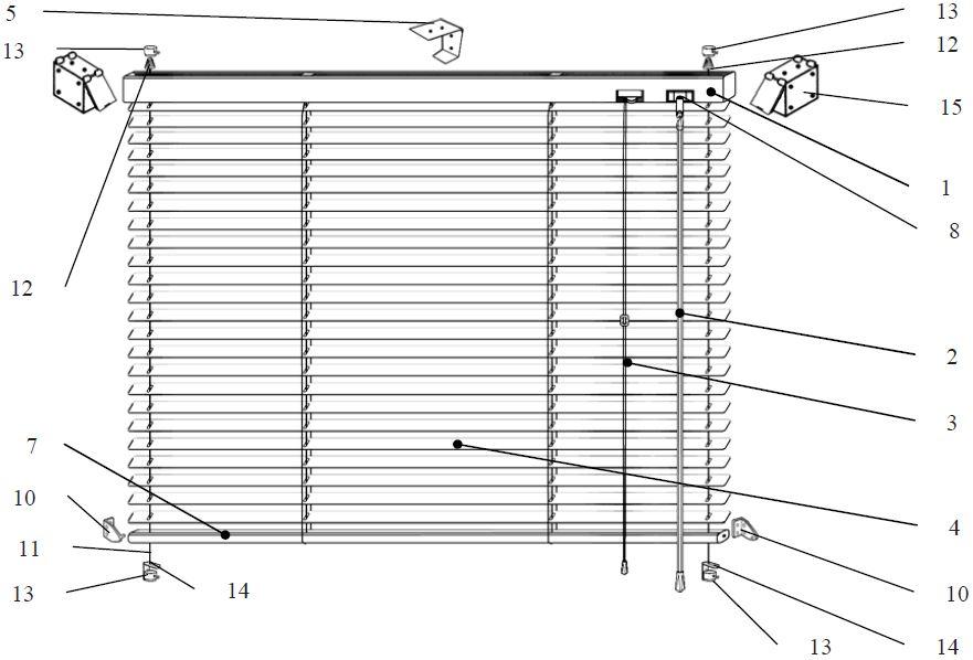 Инструкция по самостоятельному монтажу горизонтальных жалюзи